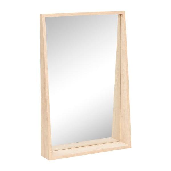 Nástěnné zrcadlo Hübsch Oak Mirror, 60 x 90 cm