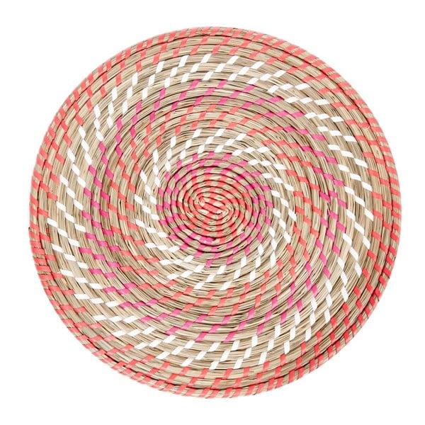 Prostírání Reed Coral, 39x39x2 cm