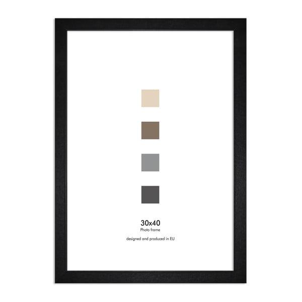 Ramă perete Styler Ramka Japan AK, 30 x 40 cm, negru