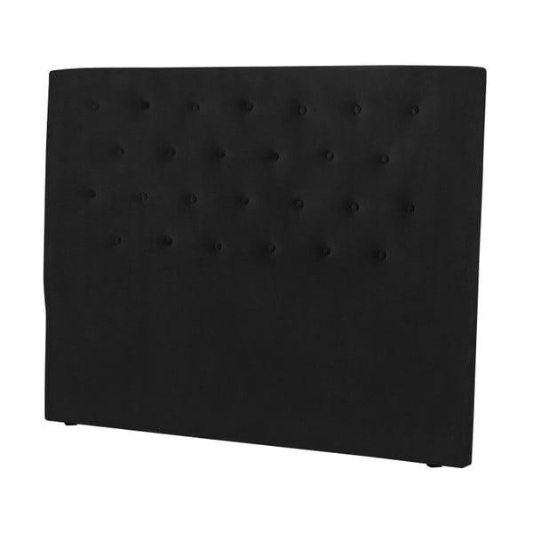 Černé čelo postele Windsor & Co Sofas Astro, 200 x 120 cm