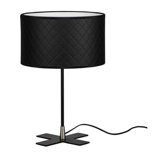 Czarna lampa stołowa Bulb Attack Trece