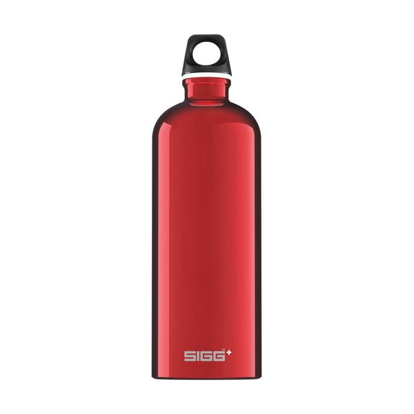Lahev Traveler 1 l, red