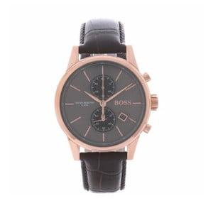 Pánské hodinky s koženým řemínkem Hugo Boss Demetrius