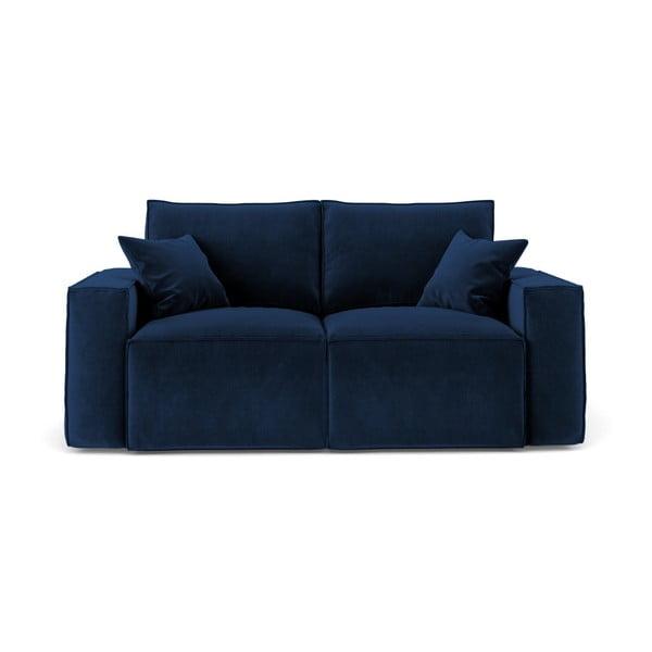 Florida sötétkék kétszemélyes kanapé - Cosmopolitan Design