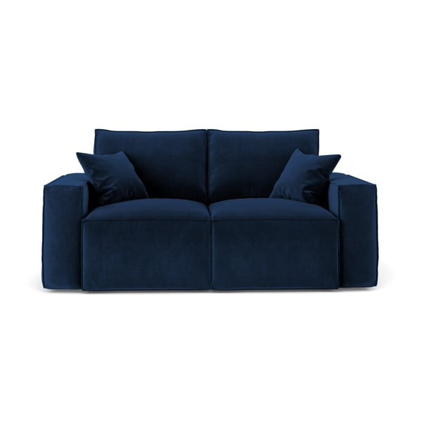 Tmavě modrá dvoumístná pohovka Cosmopolitan Design Florida