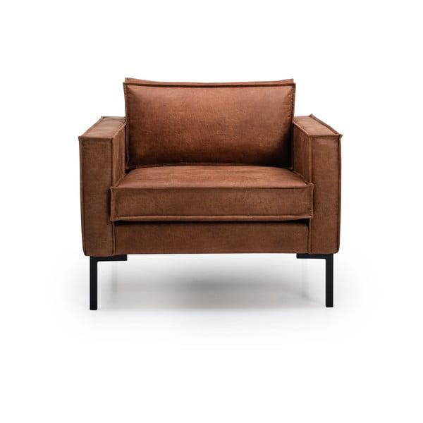 Jasnobrązowy fotel Softnord Rate