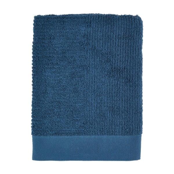 Tmavě modrá osuška Zone Nova, 70x140cm