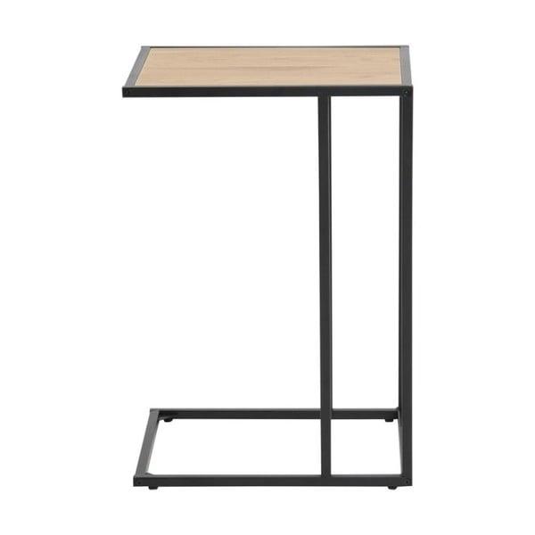 Seaford fekete-barna íróasztal, laptophoz - Actona