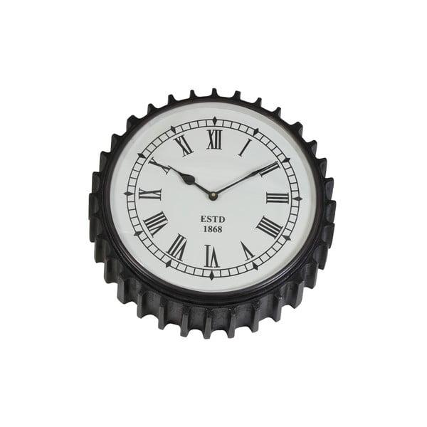 Nástěnné hodiny Rad Black