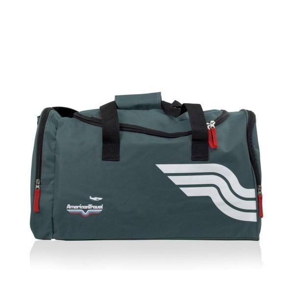 Šedá sportovní taška American Travel Boston