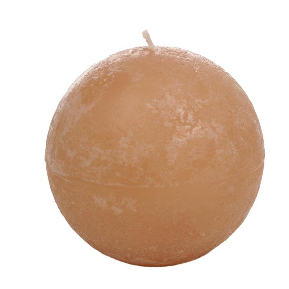 Oranžová svíčka J-Line Almond
