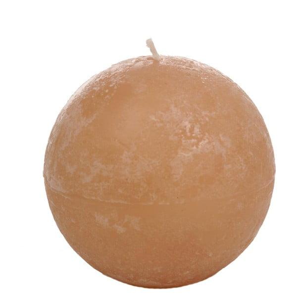 Pomarańczowa świeczka J-Line Almond