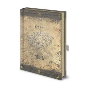 Zápisník A5 Pyramid International Game Of Thrones: North Remembers, 120 stran