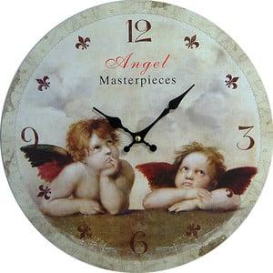 Nástěnné hodiny Angel Masterpiece