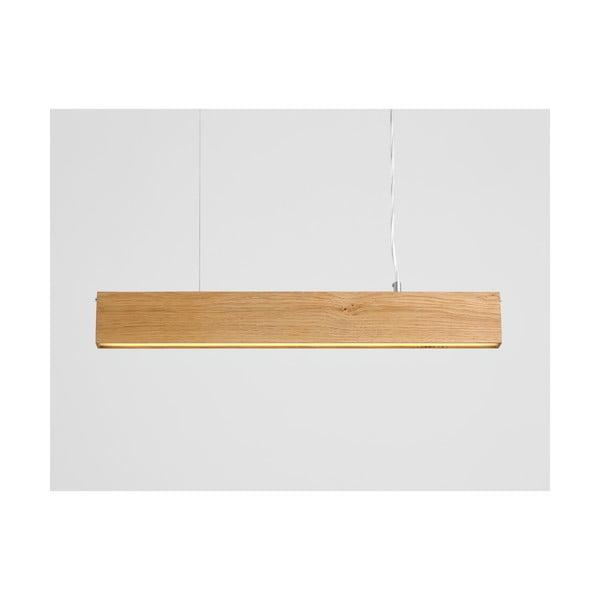 Závěsné svítidlo z dubového dřeva Custom Form Line Plus M Woody