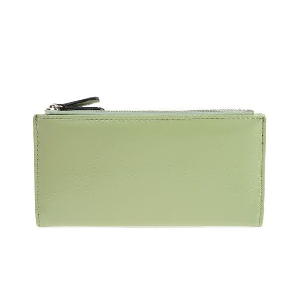 Světle zelená peněženka Carla Ferreri