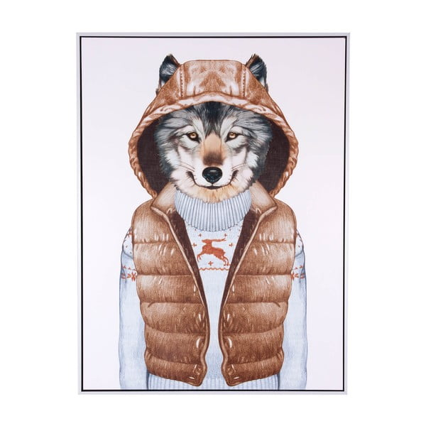 Wolf Vest kép, 60 x 80 cm - sømcasa