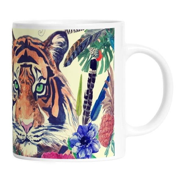 Keramický hrnek Tiger In Jungle, 330 ml