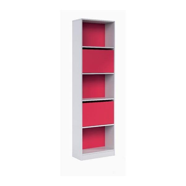Růžovo-bílá knihovna 13Casa Hesse
