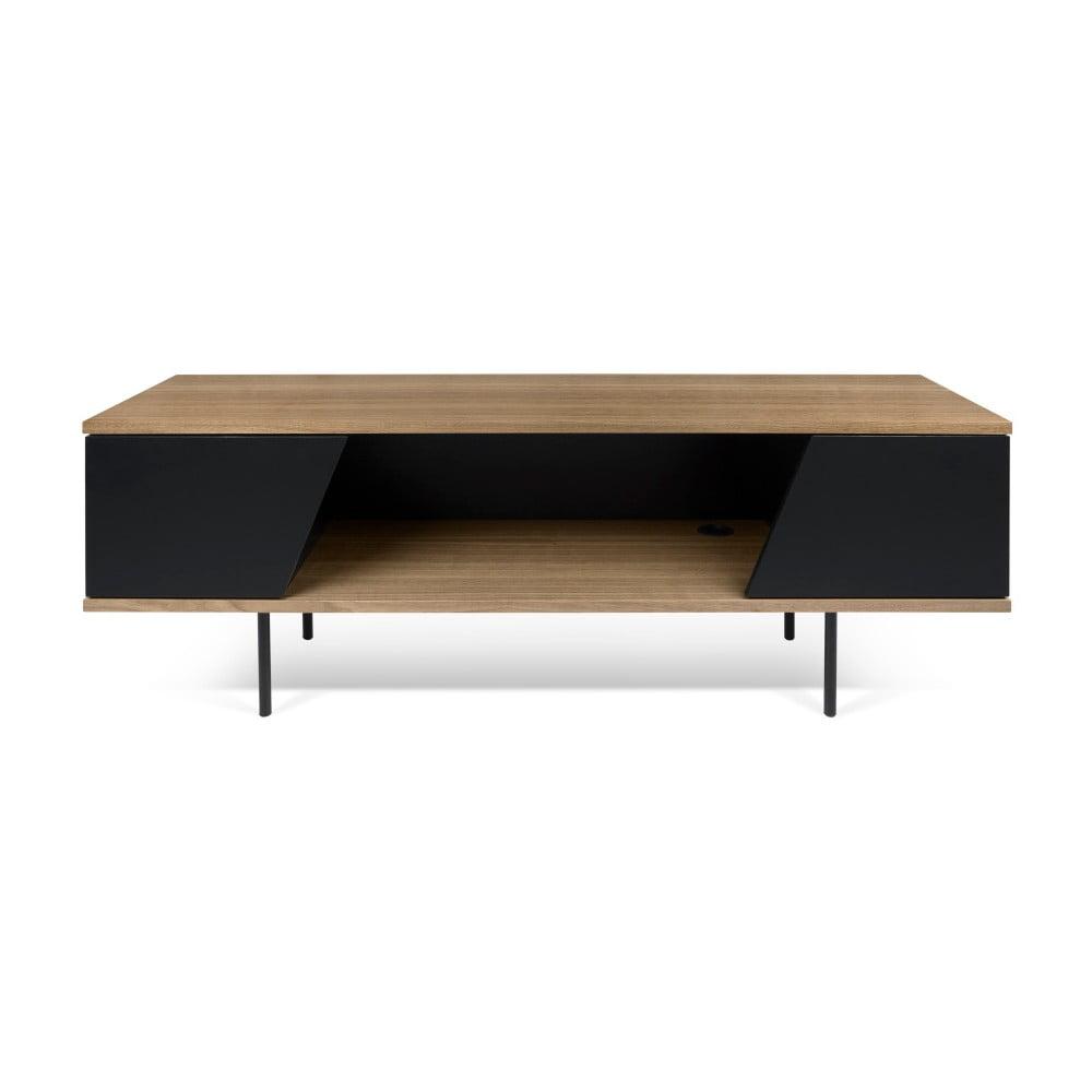 TV stolek s černými detaily TemaHome Dixie
