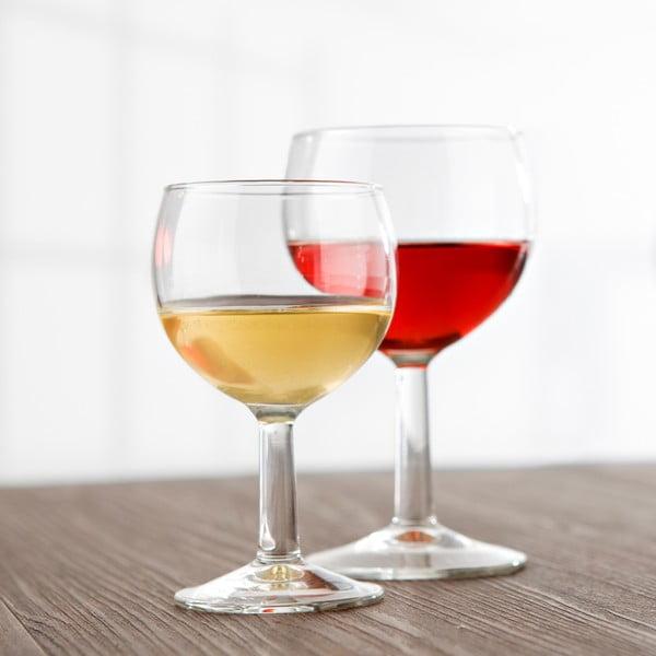 Sada 6 sklenic na víno Valon, 190 ml