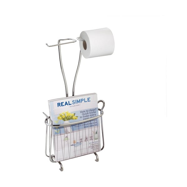 Stojan na toaletní papír a časopisy iDesign Axis