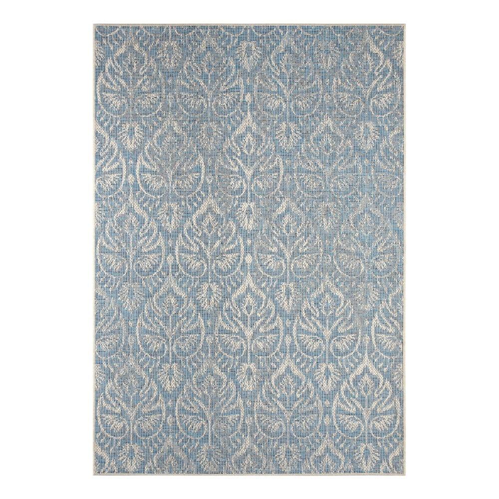 Šedomodrý venkovní koberec Bougari Choy, 200 x 290 cm