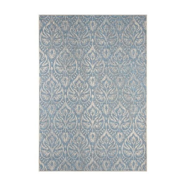 Covor potrivit pentru exterior Bougari Choy, 140 x 200 cm, gri - albastru