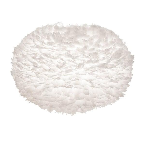 Bílé svítidlo z husího peří VITA Copenhagen EOS, Ø75cm