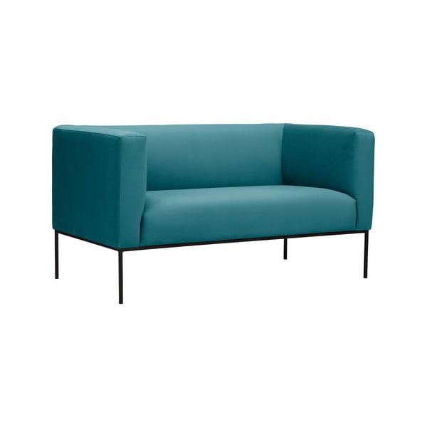 Tyrkysová dvojmístná pohovka Windsor & Co Sofas Neptune