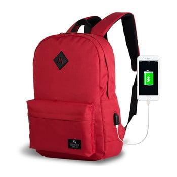 Rucsac cu port USB My Valice SPECTA Smart Bag, roșu de la Myvalice