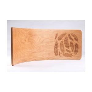Bukové houpací prkno Utukutu Pírka, délka82cm