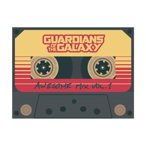 Obraz Pyramid International Guardians Of The Galaxy Vol 2 Wesome Mix Vol 1, 60 x 80 cm