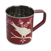 Hrnek Eva Hand Painted Mug, červený