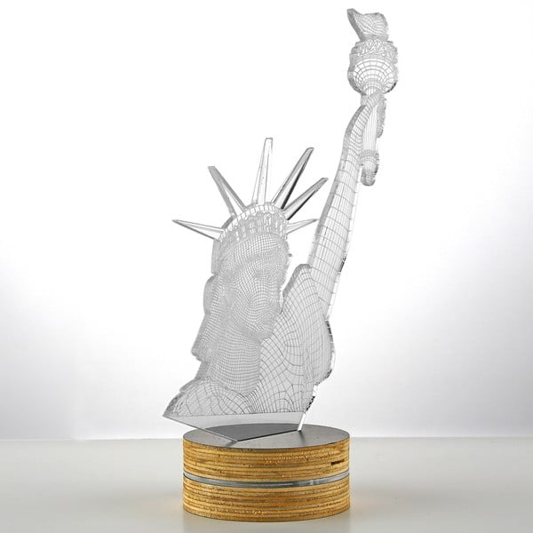3D stolní lampa Statue of Liberty
