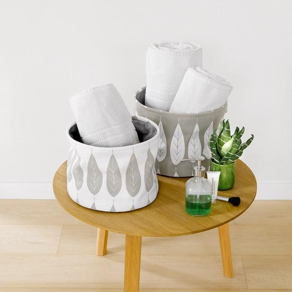 Sada 2 úložných košíků Botanic Grey