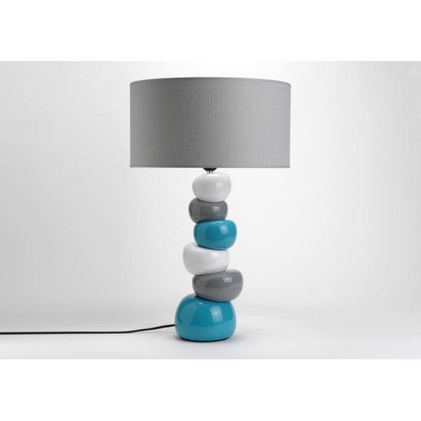 Stolní lampa Ceramic Turqouise