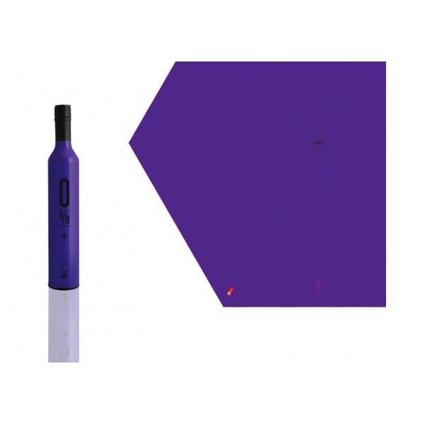 Skládací deštník 0 % plus, fialový