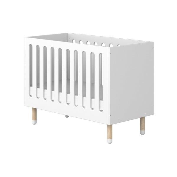 Bílá dětská postýlka Flexa Play, 60 x 120 cm