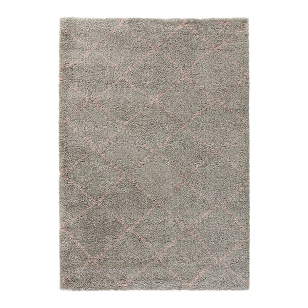 Covor Mint Rugs Allure Ronno Grey Rose, 160 x 230 cm, gri