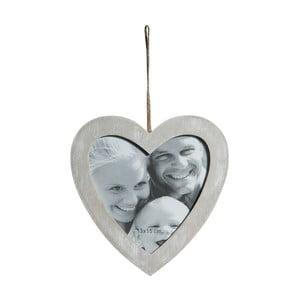 Dřevěný fotorámeček ve tvaru srdce Crido Consulting