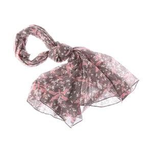 Šátek Mayfly Light Pink, 180x70 cm