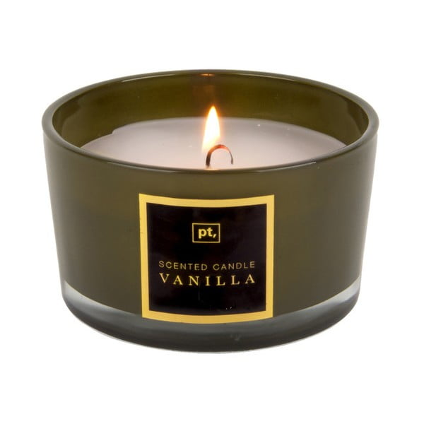 Sviečka s vôňou vanilky PT LIVING Scented Candle, doba horenia 27 hodín
