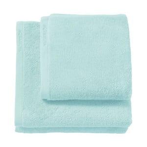 Mentolově zelený ručník z egyptské bavlny Aquanova London, 55 x 100cm