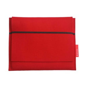 Plstěný obal na iPad Notebook 2/3/4, red