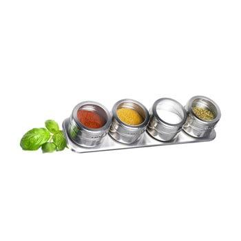 Set 4 recipiente condimente Westmark Spice Rack imagine