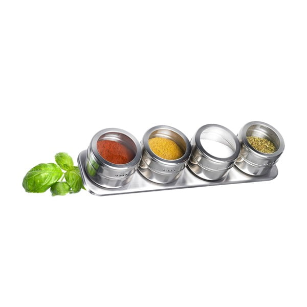 Set 5 recipiente condimente Westmark Spice Rack