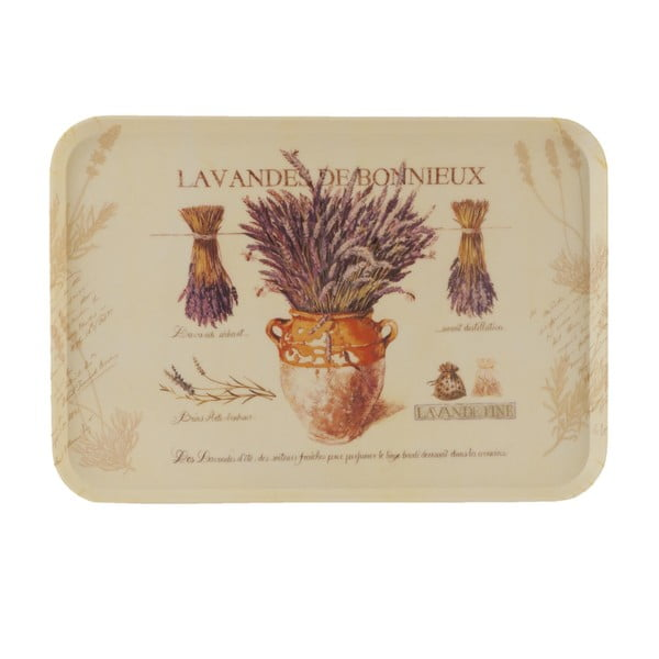 Podnos Lavender, 45x31 cm
