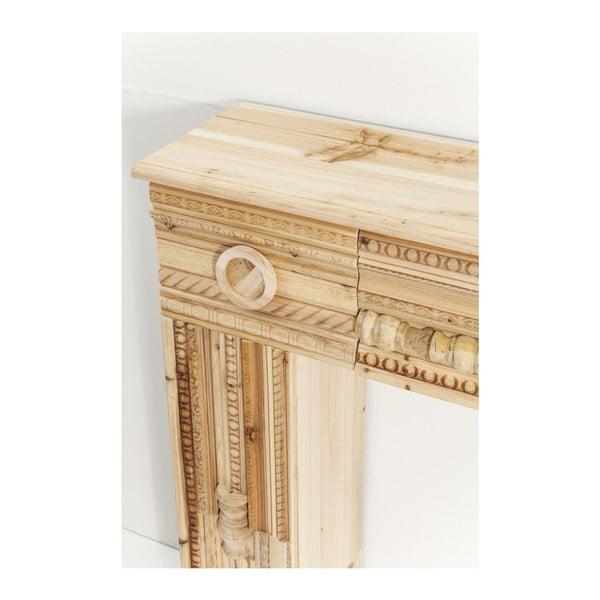 Dekorativní krbová římsa z jedlového dřeva Kare Design Ornaments