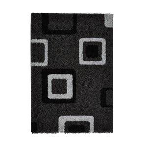 Šedočerný koberec Think Rugs Majesty, 160x220cm